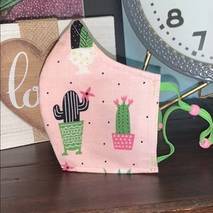 Accessories - Cactus Print Face Mask